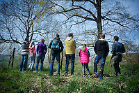 family/fans waiting for the peloton to show up<br /> <br /> 50th Amstel Gold Race 2015