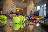 ABN AMRO World Tennis Tournament, Rotterdam, The Netherlands, 19 Februari, 2017, Marriot Hotel<br /> Photo: Henk Koster
