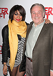 Fred Applegate with Raven-Symone as she celebrates her Broadway Debut in 'Sister Act' at Ava Lounge in the Dream Hotel in New York City on 3/27/2012.
