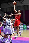 Reira Takehara (JPN), <br /> AUGUST 15, 2018 - Basketball : Women's Qualification round match between Hong Kong 44-121 Japan at Gelora Bung Karno Basket Hall A during the 2018 Jakarta Palembang Asian Games in Jakarta, Indonesia. <br /> (Photo by MATSUO.K/AFLO SPORT)