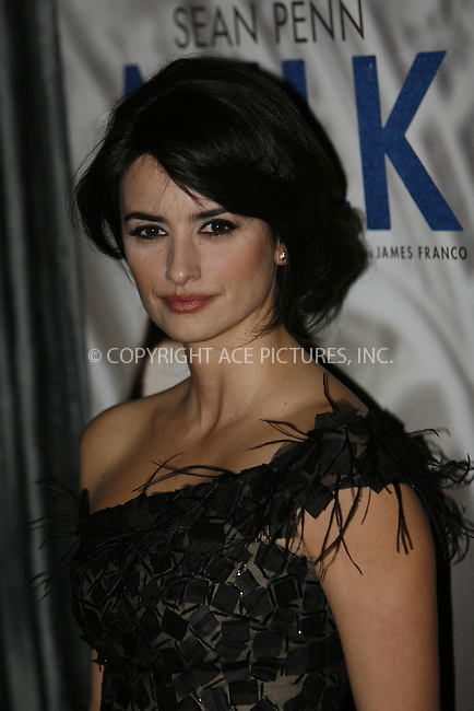 WWW.ACEPIXS.COM . . . . .  ....January 5 2009, New York City....Actress Penelope Cruz arriving at the 2008 New York Film Critic's Circle Awards at Strata on January 5, 2009 in New York City.....Please byline: NANCY RIVERA- ACE PICTURES.... *** ***..Ace Pictures, Inc:  ..tel: (212) 243 8787 or (646) 769 0430..e-mail: info@acepixs.com..web: http://www.acepixs.com