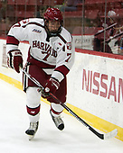 Eddie Ellis (Harvard - 7) - The Harvard University Crimson defeated the US National Team Development Program's Under-18 team 5-2 on Saturday, October 8, 2016, at the Bright-Landry Hockey Center in Boston, Massachusetts.