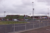 23/06/2000 Blackpool FC Bloomfield Road Ground..Kop viewed from Lonsdale Rd Coach park.....© Phill Heywood.