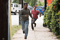 Tag (2018)  <br /> JAKE JOHNSON as Randy &quot;Chilli&quot; Cilliano and ED HELMS as Hogan &quot;Hoagie&quot; Malloy<br /> *Filmstill - Editorial Use Only*<br /> CAP/MFS<br /> Image supplied by Capital Pictures