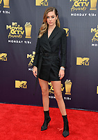 Delilah Belle at the 2018 MTV Movie &amp; TV Awards at the Barker Hanger, Santa Monica, USA 16 June 2018<br /> Picture: Paul Smith/Featureflash/SilverHub 0208 004 5359 sales@silverhubmedia.com