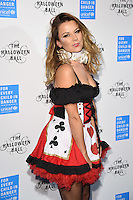 Juliet Angus<br /> at The Unicef UK Halloween Ball at One Embankment is raising vital funds to support Unicef's life-saving work for Syrian children in danger. To help Unicef keep children safe and warm this winter visit unicef.org.uk/halloweenball <br /> <br /> <br /> ©Ash Knotek  D3178  13/10/2016
