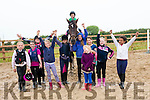 PONY CAMP: The group of girls that enjoyed the Sea View Equestrian Centre pony summer camp in Ballinloughig, Ballydavid.