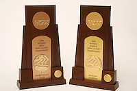 4 September 2007: A photograph of the NCAA national championship trophies for cross country.