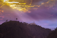 Cerro, Santuario de Monserrarte en Bogotá, Colombia. Retoque Digital. / Mountain, Sanctuary of Monserrate in Bogota, Colombia. Digital Retouching, Photo: VizzorImage/ Gabriel Aponte / Staff