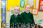 Twins, Mia and Bella Fitzgerald in Miss Mulligan's class in Firies NS.