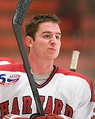 Matt McCollem (Harvard - 23) - The visiting Quinnipiac University Bobcats defeated the Harvard University Crimson 3-1 on Wednesday, December 8, 2010, at Bright Hockey Center in Cambridge, Massachusetts.
