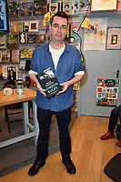 Mick Herron, bestselling spy novelist, discusses London Rules, the fifth of his acclaimed Jackson Lamb novels, at Dulwich Books, London, England on March 07, 2018.<br /> CAP/JOR<br /> &copy;JOR/Capital Pictures