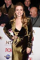 Laura Aitken<br /> arriving for the National TV Awards 2020 at the O2 Arena, London.<br /> <br /> ©Ash Knotek  D3550 28/01/2020