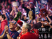 21.12.2014.  London, England.  William Hill PDC World Darts Championship.  Darts fans at the 2015 William Hill World Darts Championship.