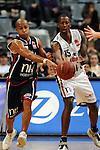 Mannheim 17.01.2009, Kampf um den Ball von BBL Team Nord Kyle Bailey und BBL Team S&uuml;d Brandon Kyle Bowman im Spiel S&uuml;d - Nord beim Basketball All Star Day 2009<br /> <br /> Foto &copy; Rhein-Neckar-Picture *** Foto ist honorarpflichtig! *** Auf Anfrage in h&ouml;herer Qualit&auml;t/Aufl&ouml;sung. Belegexemplar erbeten.