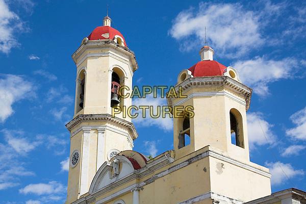 Catedral de la Purisima Concepcion, Our Lady of the Immaculate Conception, Parque Jose Marti, Plaza de Armas, Cienfuegos, Cuba