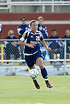 19 June 2004: Abby Wambach. The Washington Freedom tied the Boston Breakers 3-3 at the National Sports Center in Blaine, MN in Womens United Soccer Association soccer game featuring guest players from other teams.
