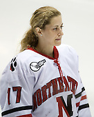 Lori Antflick (NU - 77) - The Northeastern University Huskies defeated the Union College Dutchwomen 4-1 on Saturday, October 3, 2009, at Matthews Arena in Boston, Massachusetts.