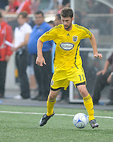 Pat Noonan (11) in action at  BMO Field on Saturday September 13, 2008. .The game ended in a 1-1 draw.