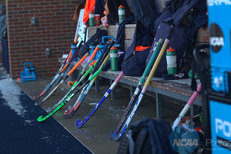 22 NOV 2015:  The Division I Women's Field Hockey Championship, between Syracuse University and the University of North Carolina, is held at the Phyllis Ocker Field Hockey Field on the University of Michigan campus in Ann Arbor, MI. Syracuse defeated North Carolina 4-2 for the national title. Tony Ding/NCAA Photos