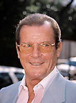 Roger Moore attending The N.A.T.P.E. TV Convention, New Orleans onJanuary 25, 1999.