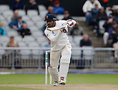 7th September 2017, Emirates Old Trafford, Manchester, England; Specsavers County Championship, Division One; Lancashire versus Essex; Ravi Bopara of Essex at the crease after lunch today