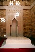 EGY, Aegypten, Assuan: im Aga Khan Mausoleum | EGY, Egypt, Assuan: inside Aga Khan Mausoleum