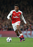 Arsenal's Alex Iwobi in action during the Champions League group A match at the Emirates Stadium, London. Picture date November 23rd, 2016 Pic David Klein/Sportimage