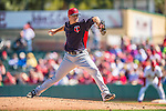 4 March 2013: Minnesota Twins pitcher P.J. Walters on the mound during a Spring Training game against the St. Louis Cardinals at Roger Dean Stadium in Jupiter, Florida. The Twins shut out the Cardinals 7-0 in Grapefruit League play. Mandatory Credit: Ed Wolfstein Photo *** RAW (NEF) Image File Available ***