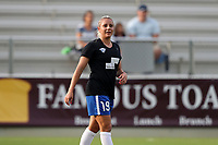 Cary, North Carolina  - Saturday June 17, 2017: Adriana Leon prior to a regular season National Women's Soccer League (NWSL) match between the North Carolina Courage and the Boston Breakers at Sahlen's Stadium at WakeMed Soccer Park. The Courage won the game 3-1.