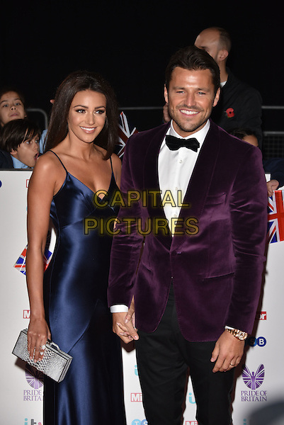 Mark Wright and Michelle Keegan<br /> Pride of Britain Awards, Grosvenor House Hotel, London, England  on October 31,  2016<br /> CAP/Phil Loftus<br /> &copy;Phil Loftus/Capital Pictures