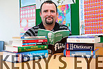 Jeremiah O'Mahony from Kilcummin who has discovered  a new world of reading thanks to the Adult Literacy and Basic Education Centre in Killarney.