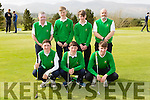 The Tralee team that played Castleisland in the Fred Daly cup semi-finals in Killorglin Golf Course on Thursday front row l-r: David Nolan, Ciaran Nolan, Joe Slattery, back row: gerald Carey, Liam O'Donnell, Mark Leahy and Pat Williams