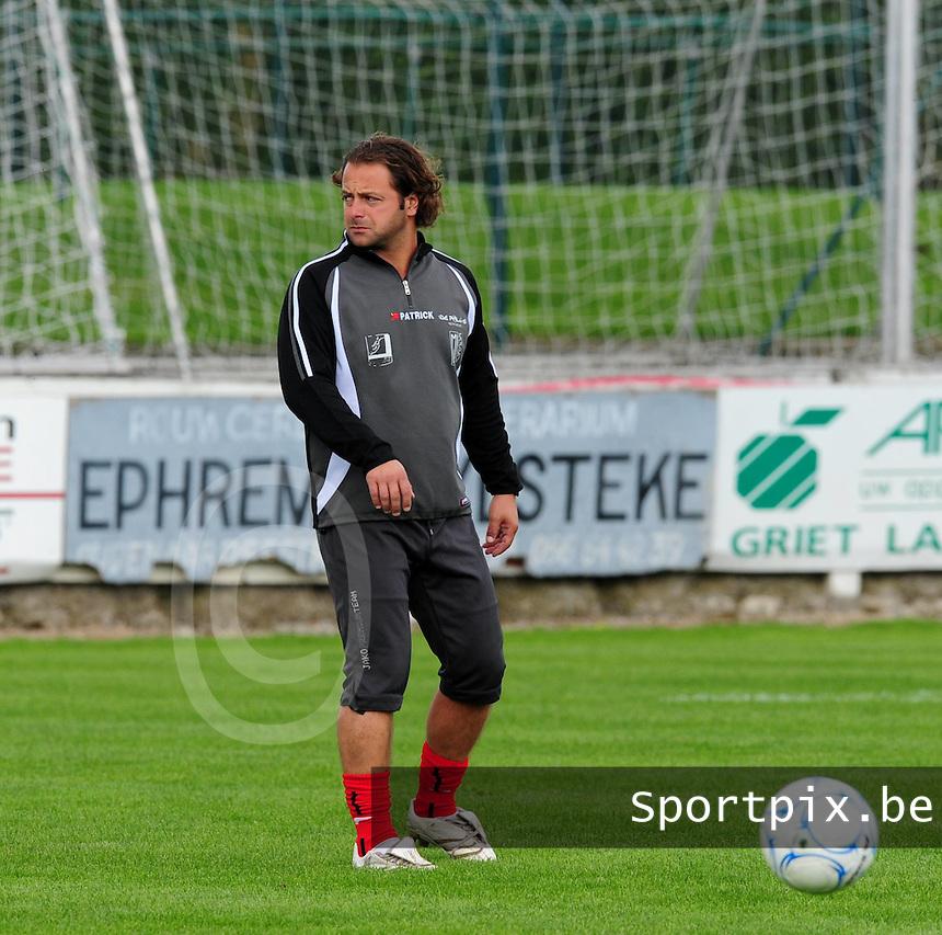 KVK Avelgem : Steev Yousfi.foto VDB / BART VANDENBROUCKE