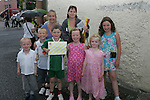 The woods and McArdle Families at the Prawn Festival in Clogherhead....Photo NEWSFILE/Jenny Matthews.(Photo credit should read Jenny Matthews/NEWSFILE)....This Picture has been sent you under the condtions enclosed by:.Newsfile Ltd..The Studio,.Millmount Abbey,.Drogheda,.Co Meath..Ireland..Tel: +353(0)41-9871240.Fax: +353(0)41-9871260.GSM: +353(0)86-2500958.email: pictures@newsfile.ie.www.newsfile.ie.FTP: 193.120.102.198.