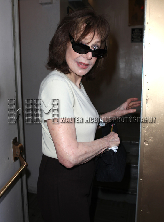 Elaine May.attending 'Gore Vidal - A Celebration' at the Schoenfeld Theatre in New York City on August 23, 2012 © Walter McBride/WM Photography