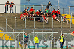 The Fossa subs on the terrace in Austin Stack Park v Ballyduff in the Junior Premier Football Club Championship.