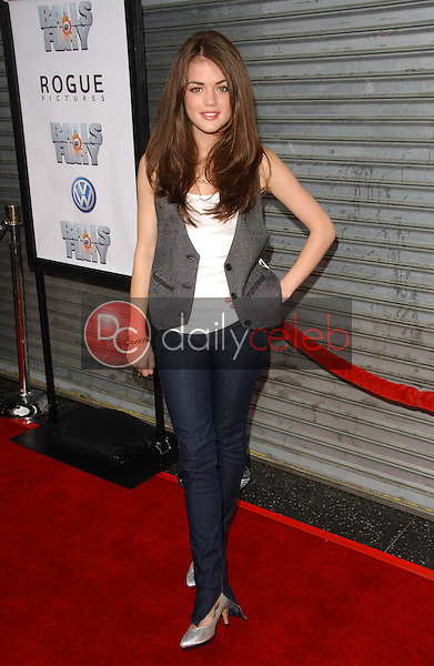 Lucy Hale<br />at the Los Angeles premiere &quot;Balls Of Fury&quot;. The Egyptian Theatre, Hollywood, CA. 08-25-07<br />Dave Edwards/DailyCeleb.com 818-249-4998
