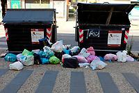 Roma, 23 Giugno 2019<br /> Via Tro Sapienza.<br /> Rifiuti in strada,emergenza