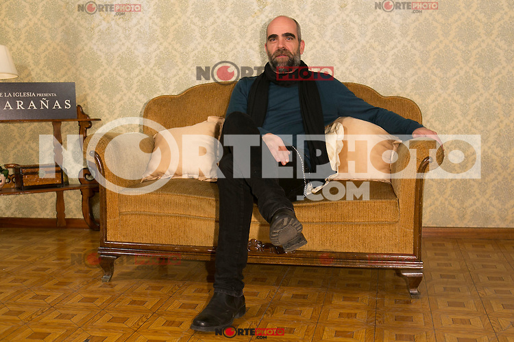 "Luis Tosar attend the presentation of the movie ""Musaranas"" in Madrid, Spain. December 17, 2014. (ALTERPHOTOS/Carlos Dafonte) /NortePhoto /NortePhoto.com"