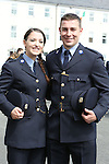 Attending the Garda graduations in Templemore on Thursday were graduating siblings Jennifer and David Carroll from Clonsilla, Dublin.<br />  Photograph Liam Burke/Press 22