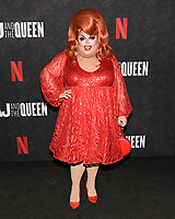 "10 January 2020 - Beverly Hills, California - Ginger Minj. Netflix's ""AJ And The Queen"" Season 1 Premiere at The Egyptian Theatre in Hollywood. Photo Credit: Billy Bennight/AdMedia"