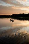 Boat on Amazon River in Ecuador