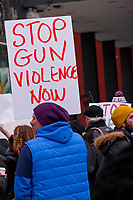 Anti-Gun Violence Rally Chicago 2-18-18