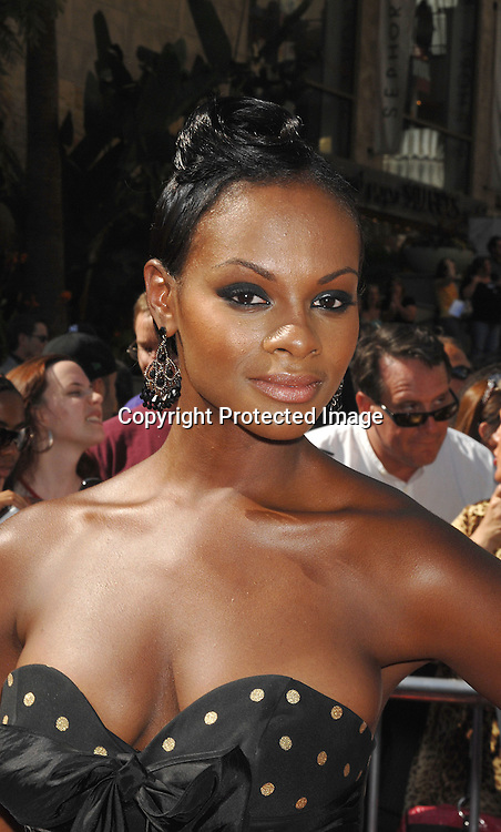 Tika Sumpter..arriving at The 34th Annual Daytime Emmy Awards on ..June 15, 2007 at The Kodak Theatre in Hollywood, California. ..Robin Platzer, Twin Images......212-935-0770