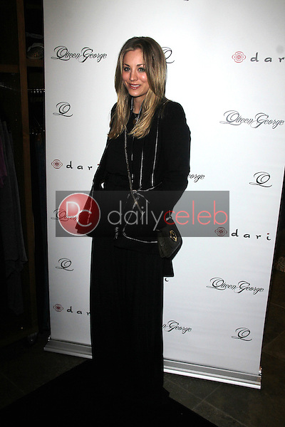 Kaley Cuoco<br /> at the Launch Party for Q by Jodi Lyn O'Keefe, Dari Boutique, Studio City, CA 01-23-12<br /> David Edwards/DailyCeleb.com 818-249-4998