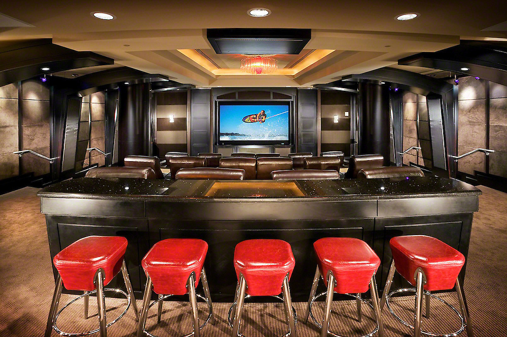 Office Theater Amenity Space