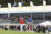 Xander Schauffele (USA) on the 10th fairway during the First Round - Four Ball of the Presidents Cup 2019, Royal Melbourne Golf Club, Melbourne, Victoria, Australia. 12/12/2019.<br /> Picture Thos Caffrey / Golffile.ie<br /> <br /> All photo usage must carry mandatory copyright credit (© Golffile | Thos Caffrey)