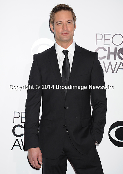 Pictured: Josh Holloway<br /> Mandatory Credit &copy; Gilbert Flores /Broadimage<br /> 2014 People's Choice Awards <br /> <br /> 1/8/14, Los Angeles, California, United States of America<br /> Reference: 010814_GFLA_BDG_283<br /> <br /> Broadimage Newswire<br /> Los Angeles 1+  (310) 301-1027<br /> New York      1+  (646) 827-9134<br /> sales@broadimage.com<br /> http://www.broadimage.com