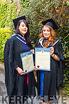 Bachelor of Arts, Culinary Arts Eilish Clifford, Caroline Moloney at the Institute of Technology Tralee Autumn Conferring of Awards Ceremony at the Brandon Hotel on Friday